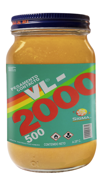 pegamento de contacto vl 2000 botella 500 temp - VL 2000 | Pegamentos Industriales | Mexico